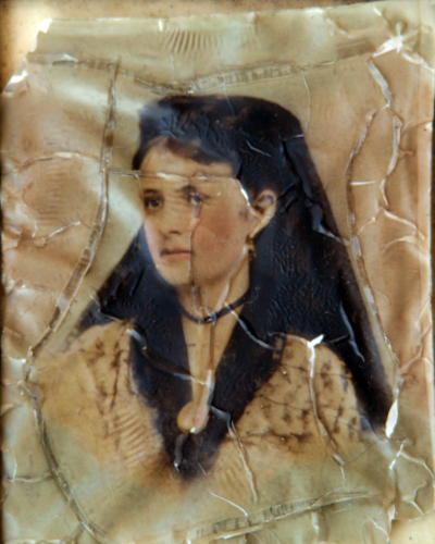 Water Damaged Photograph